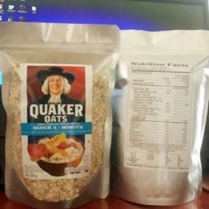 Yến mạch nguyên chất Quaker oats 500g-0