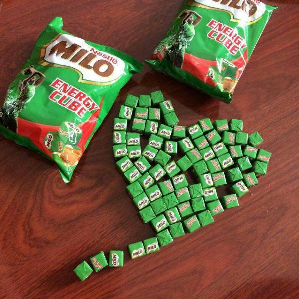 kẹo milo cube gói 100 viên