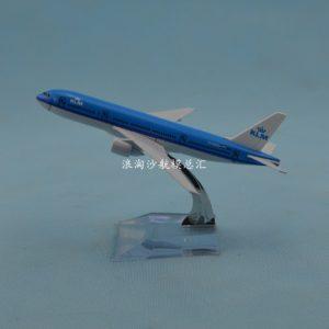 Mô hình máy bay KML airlines B777 16cm-0