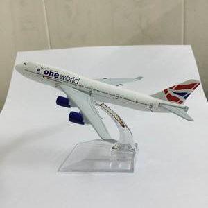 Mô hình máy bay British Airways 16cm-4705