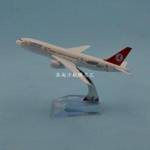 Mô hình máy bay Turkish B777 16cm-0