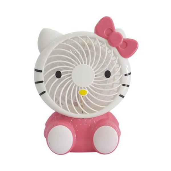 quạt usb tích điện hello kitti